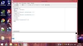 Программирование на языке Pascal. Урок #2: Операторы ввода и вывода, присвоение значений