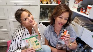 "Pepper Reveals Her ""Secret"" Thai Box in Chrissy's Pantry"