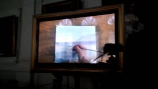 Пишем море акварелью видеоурок Н С Яндрияки