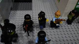 Лего зомби апокалипсис. Спецназ против зомби. 2 серия.