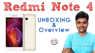 Xiaomi Redmi note 4 ( 4GB RAM) UnBoxing and Overview - கண்ணோட்டம்   Tamil Tech