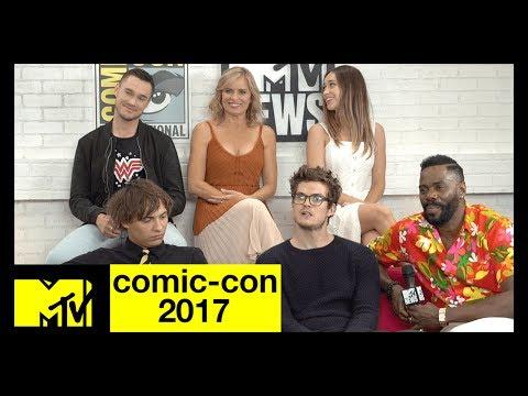 'Fear the Walking Dead' Cast on Season 3  ComicCon 2017  MTV