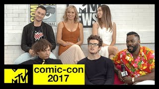 'Fear the Walking Dead' Cast on Season 3 | Comic-Con 2017 | MTV