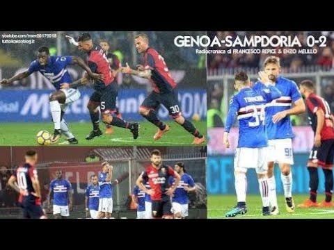 Genoa-Sampdoria 0-2 - Tutta la radiocronaca di Francesco Repice & Enzo Melillo (4/11/2017) Radio Ra