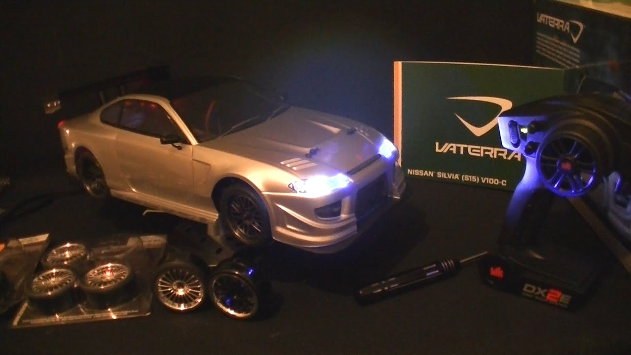 Vaterra Nissan Silvia S15 V100-C - 1/10 th Road Car - Unboxing Part