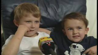 Charlie Bit Me - German TV Interview  aka 'Jasper Bit Me'