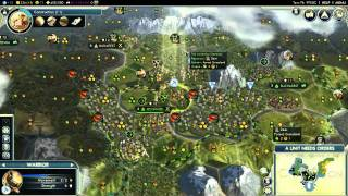 - Civilization V - Alexander of Greece (Episode 1 Part 4) - (Not) Yet Another Giant Earth Map Pack -