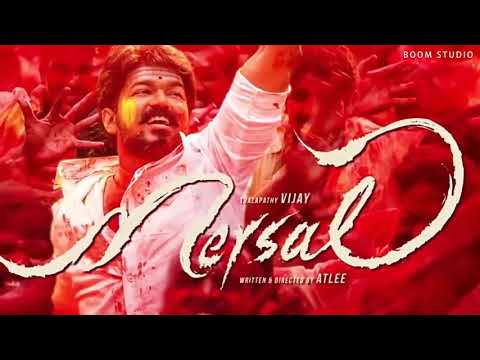 Mersal   Official Song   Lyrics Song  3D sound use only Headphones
