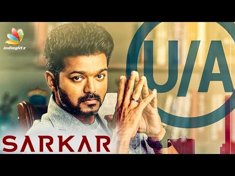 HOT : Sarkar Censor Verdict Revealed | Vijay's Thalapathy 62 | A.R.Murugadoss