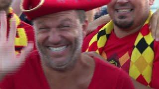 World Cup: Belgium fans 'proud,' England fans 'optimistic' thumbnail