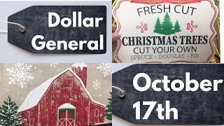 Dollar General Christmas 10-17-19 *New