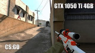 CS:GO | GTX 1050 Ti | 1080p | i5-4460 | FPS TEST