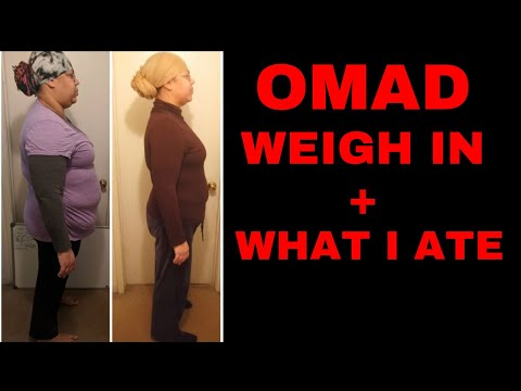 Omad Diet Results | Weight Loss Journey 2019 thumbnail