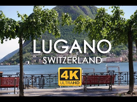 Lugano Switzerland Things to See in 4k