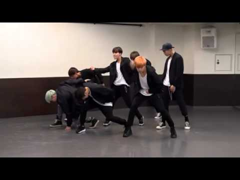 [Mirrored] BTS 방탄소 년단 'RUN' Dance Practice
