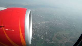 Air India - AI130 Take Off from London Heathrow... INCREDIBLE GE90 Sound