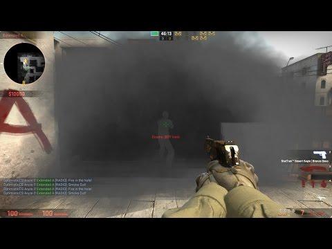 Csgo see through smoke bug??!!