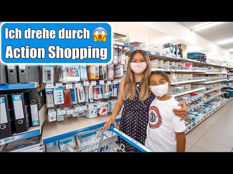 Action Shopping Haul 😍 Back To School & Sommer! Mama Sohn Tag VLOG   Mamiseelen