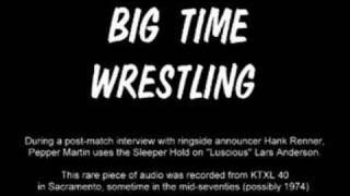 KTXL Big Time Wrestling: The Sleeper Hold (Audio Only)