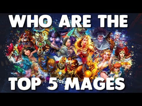 Smite Best Mage 2019 Who Are The Top 5 Mages In Smite?? 2018 2019   YouTube