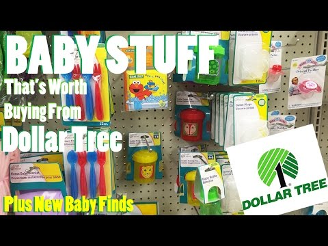 Baby Stuff At The Dollar Tree That's Worth Buying - Plus New Dollar Store  Baby Find