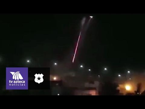 Video: Helicóptero dispara contra narcos en Tepic