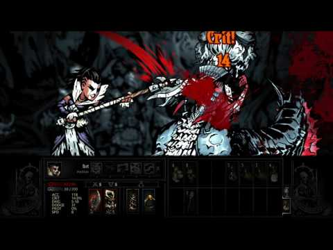 Darkest Dungeon - The Crimson Court - Countess Boss Fight (traditional approach)