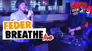 """FEDER chante """"Breathe"""" en Live - Le Rico Show sur NRJ"""