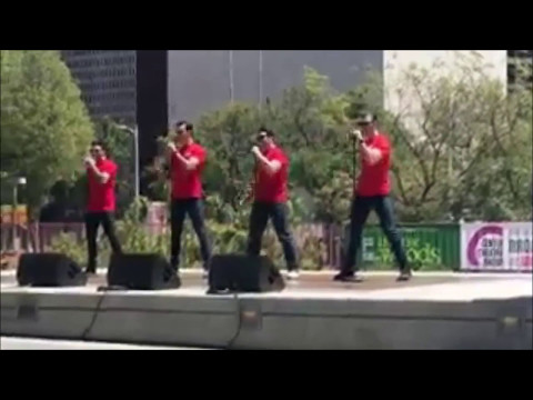 L.A  Jersey Boys promos ft Mark Ballas