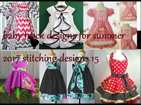 3309c61e41ec baby frock designs for summer 2017