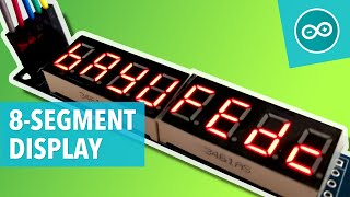 #21 MAX7219 8-Digit LED Display aansturen