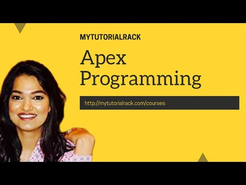 Apex Programming Tutorial for beginners: Classes and Object in Salesforce