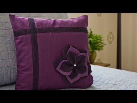 How to Make a Flower Pillow Sham