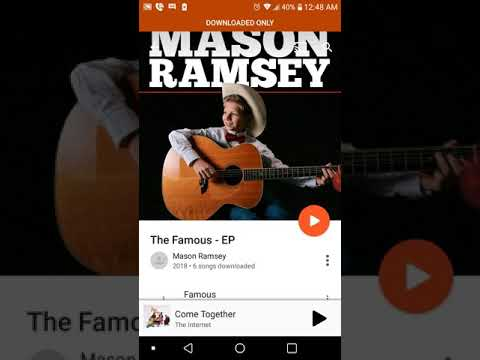 Mason Ramsey The Famous Ep Yodeling Walmart Kids Debut Project