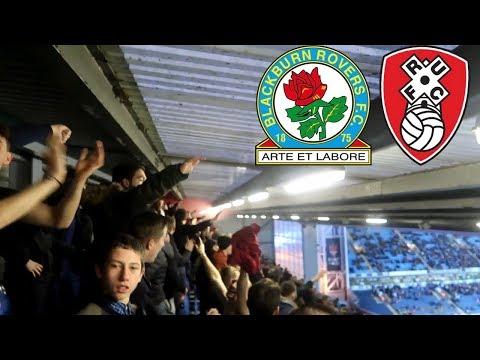 *PYROS* - Blackburn Rovers Vs Rotherham United AWAY Match Vlog Ft Smithy Boi