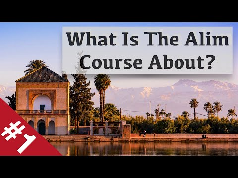 What's 'The Alim Course' about? Part1- The Arabic