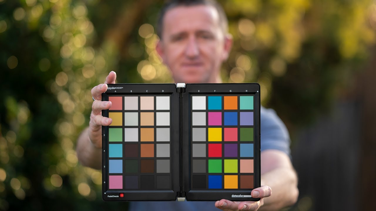 Colour management for photographers with the SpyderCHECKR from Datacolor.