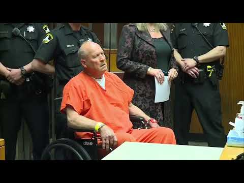 'Golden State Killer' suspect appears in court for 1st time