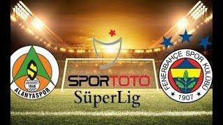 Alanyaspor 3-1 Fenerbahçe maçı canlı izle