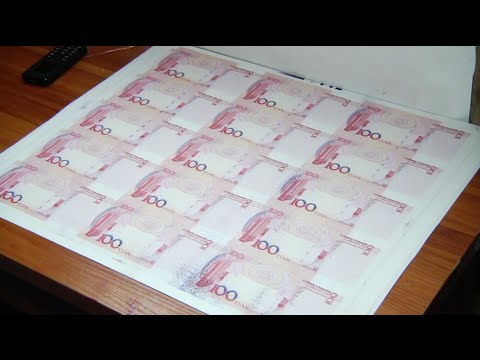 Guangdong Police Seize Fake Banknotes with Face Value of 210 Million Yuan