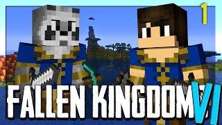 FALLEN KINGDOMS AVEC MODS VI : ATUM ! | JOUR 1 - Minecraft FK thumbnail