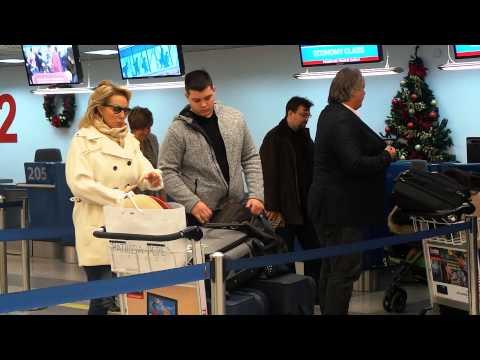 Lepa Brena, Boba Zivojinovic, Viktor Zivojinovic dolazak na aerodrom! Odlazak na Tajland!