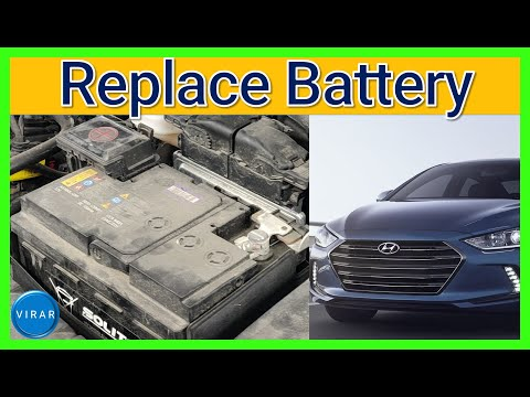 How to [EASILY] Replace the Battery on a Hyundai Elantra – (2017 / 2018)