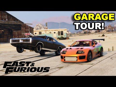 FAST AND FURIOUS - Gta 5 Garage Tour 1  - {70+ CARS}