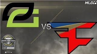 FaZe Clan vs OpTic Gaming - Winners Finals - #CWLDallas