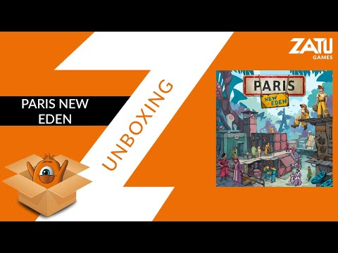 Paris New Eden Unboxing