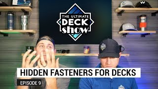 Hidden Fasteners for Decks - The Ultimate Deck Show // 9