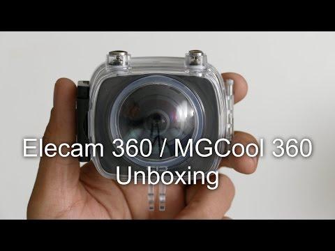 Unboxing of Elecam 360 / MGCool 360 camera