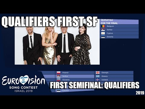 Eurovision 2019 | Semi-Final 1 Qualifiers | MY 10 Qualifiers Prediction