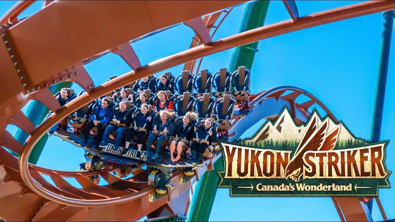 Yukon Striker Dive Coaster - FULL RIDE Canada's Wonderland 2019